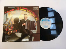 """The Best Of John Woodhouse And His Magic Accordion (6870 566) 12"""" LP Ex/Ex"""