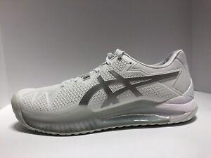 ASICS Gel-Resolution 8 Mens Tennis Sneaker White Size 10 M