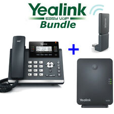 Yealink W41P DECT Cordless Phone Package Bundle T41S W60B DD10K IP Base Dongle