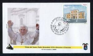 23851) Vatican 2009 FDC Benedict XVI Brescia Concesio Italy