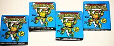 Teenage Mutant  Ninja Turtles cards new 1990 2nd Series 4 packs