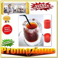 Bicchiere Stampo in silicone per creare di ghiaccio per aperitivi e short drink