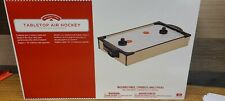 TABLETOP AIR HOCKEY Table Paddles Pucks Office Holiday Time