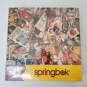"""New Springbok """"Yesteryear"""" 1000 Piece Jigsaw Puzzle New Sealed memorabilia 24x30"""