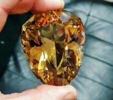 Rare natural Golden Citrine Collector's gem..786 Carats!.