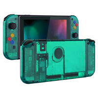 Emerald Green Console Housing Shell with Buttons Replacement for Nintendo Switch