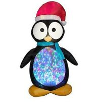 GEMMY 7.5 CHRISTMAS LIGHTED PENGUIN AIRBLOWN INFLATABLE YARD DECORATION