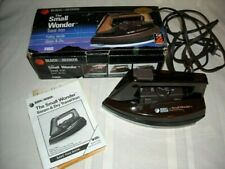 Black & Decker The Small Wonder Travel Iron Steam & Dry F45D Box & Instructions