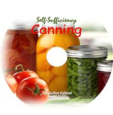 Home Canning Cooking & Preserve Recipes/Self Sufficiency /12 Videos+Books on DVD