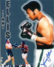 JIMMY  ELLIS  HEAVYWEIGHT  CHAMP SIGNED AUTOGRAPHED 8X10 PHOTO