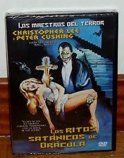 LOS RITOS SATANICOS DE DRACULA-DVD-NUEVO-PRECINTADO-TERROR-CHRISTOPHER LEE