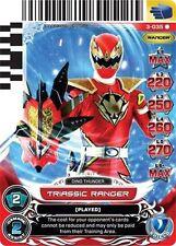 POWER RANGERS CARD UNIVERSE OF HOPE :Triassic Ranger 035 X 4