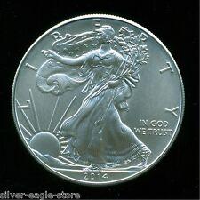 2014 SILVER AMERICAN EAGLE UNCIRCULATED $1 OZ .999 FINE BULLION DOLLAR OUNCE UN1