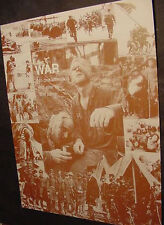 VIETNAM CIVIL WAR 60s 70s COLLAGE SEPIA PHOTO POSTER collage 1 2 one two 50s