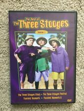 NEW! Best of the Three Stooges Volume 1 DVD, 2004, LN (Will Do Bundles)