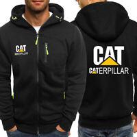 New Caterpillar Power Print Hoodie Sporty Sweatshirt Cosplay Jacket Spring Coat
