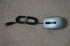 1 - Dell OEM USB Wired 6 Button Scroll Wheel Silver Black Mice MOCZUL 01KHD8
