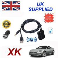 For Jaguar XK Bluetooth Music Streaming Module includes power adapter USB & AUX