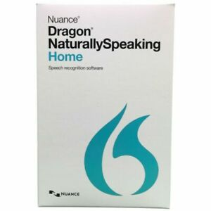 Nuance Dragon K409A-G00-13.0 NaturallySpeaking 13 Home Software
