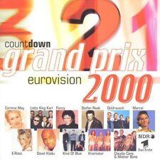 Grand Prix Eurovision 2000-Countdown Stefan Raab, Lotto King Karl, Knorka.. [CD]