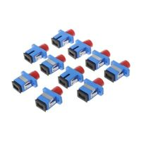 10Pcs FC-SC Fiber Optic Adapter Female Cable Connector Coupler Flange Converter