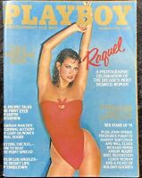 Vintage Playboy Magazine December 1979 Gala Christmas Issue Raquel Welch Cover
