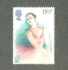Ballet-single value Great Britain-Dance-Arts mnh