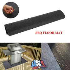 BBQ Gas Grill Mat Pad Floor Protective Fire Resistant Rug Outdoor Splatter