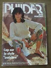 Magazine tricot Phildar  mailles mode printemps N°88 /ZA33
