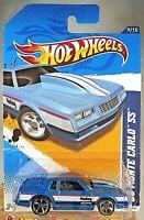 2012 Hot Wheels #149 HW Performance 9/10 '86 MONTE CARLO SS Blue Variation wMC5s