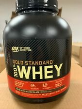 Optimum Nutrition Gold Standard 4lbs 100% Whey Protein Double Rich Chocolate