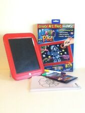 FREE SHIPPING! MAGIC PAD LIGHT-UP DRAWING PAD CREATE ART THAT GLOWS!!