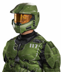 Official Adult Halo Master Chief Infinite Full Helmet Costume Accessory