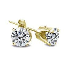 Ohrscmuck aus Gelbgold mit Diamanten