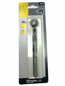 Piranha X66382 10mm Wood Drill Bit & Depth Stop