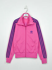 Womens Adidas Originals Tracksuit Track Top Jacket Zip Pink SZ 38