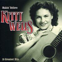 Kitty Wells - Makin Believe [New CD]