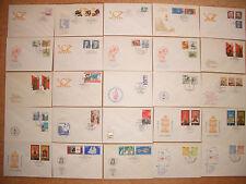 DDR - Briefmarken - Sammlung - Lot - 1975 - ETB - FDC