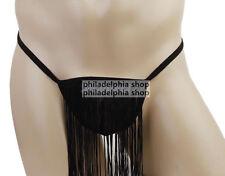 Men's Fringe Loincloth Underwear Thong Pouch G-String Shorts Underpants 241