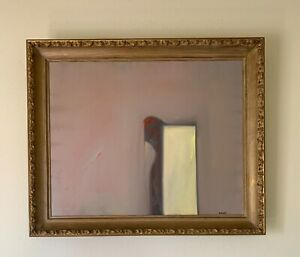 Kim Whanki 金焕基 (1913–1974) American-Korean Abstract Oil Painting