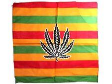 Bandana Marihuana bunt Jamaica Zandana 100 Baumwolle 130 Damen Herren Rocker