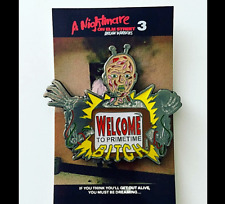 Nightmare on Elm Street Dream Warriors Freddy Krueger Pin Horror Collectible