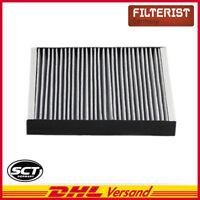 Original SCT Filter Innenraumluft Pollenfilter Innenraumfilter Aktivkohle SAK304