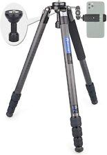 Carbon Fiber Bowl Tripod AS80C Heavy Duty Camera Kit Tripod Max Load 44lbs/20kg