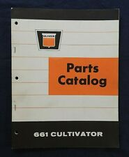 """1965 Oliver """"661 Cultivator"""" Parts Catalog Manual Very Nice"""