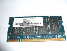 NANYA 512MB DDR PC2700S-25331 333MHz CL2.5