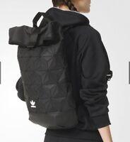 Adidas Issey Miyake Roll Top BLACK Backpack Bao Bao Inspired