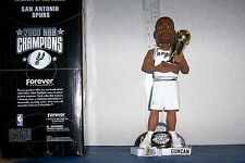 2003 TIM DUNCAN 10 INCH CHAMPIONSHIP TROPHY/RING BOBBLEHEAD SAN ANTONIO SPURS