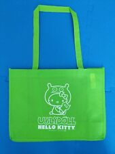 UGLYDOLL x HELLO KITTY Tote Bag Long Handles 12x16 SDCC 2013 EXCLUSIVE NEW