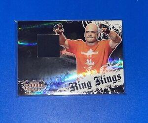 Rare Bas Rutten Short Print Relic Card #182/250 2009 Donruss Playoff SP UFC RC